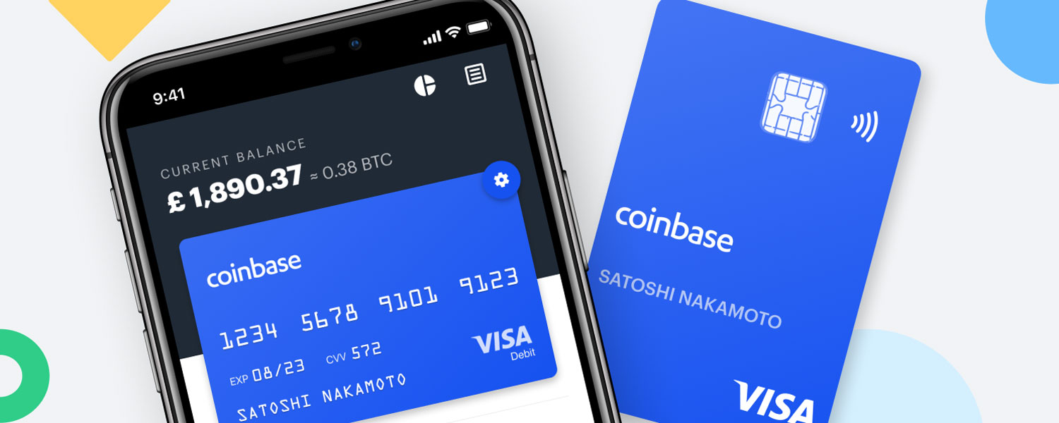 Spend your crypto instantly with Coinbase Card